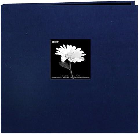 Pioneer MB88CB-FE/RN livre en tissu Album Cover Postbound Avec Window 8 x 8 pouces