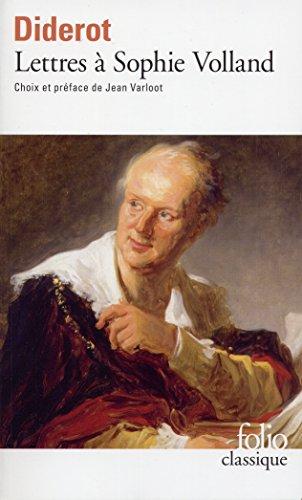 Lettres à Sophie Volland par Denis Diderot