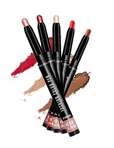 Lonlier Stylo de Fard à Paupière Naturel Durable mode Makeup Stylo d'ombre à paupières multifonction Stylo de maquillage