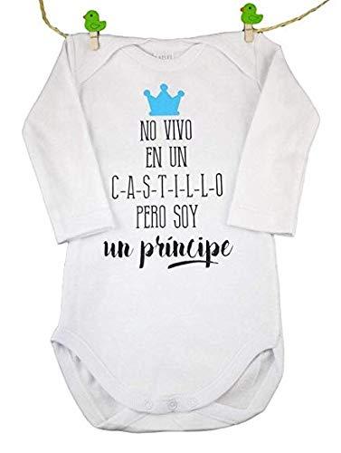 """BODY BEBE ORIGINAL"""" NO VIVO EN UN CASTILLO PERO SOY UN PRINCIPE"""". TALL"""