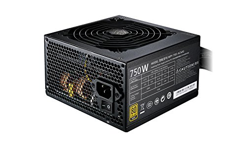 Cooler Master MWE Gold 750 alimentatore per computer 750 W ATX Nero