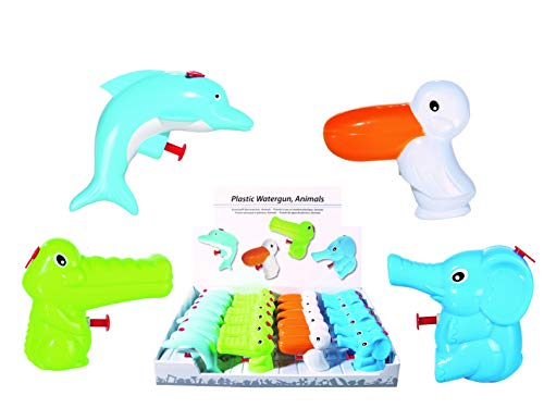 s Tierische Sommer-Bade-Pool-Spaß-Kinder-Spielzeug Garten-Party Mitgebsel Geburtstag Geschenk-Idee (12er Set) ()
