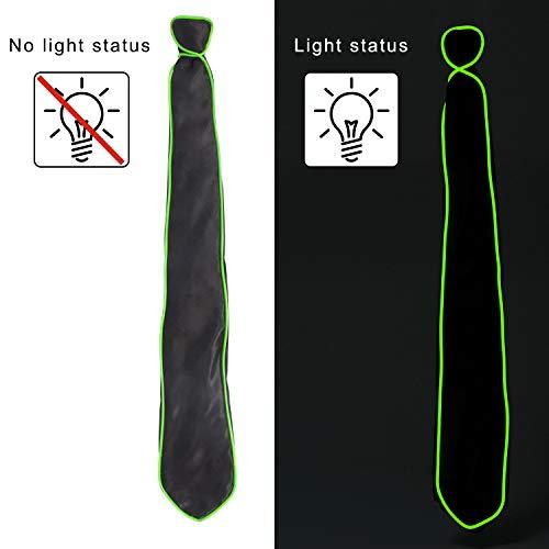 YOU LOOK UGLY TODAY LED Leuchten Krawatten Kostüm Party Zubehör Männer für Party Weihnachtsfeiern Kanerval Halloween Geburtstagfeiern