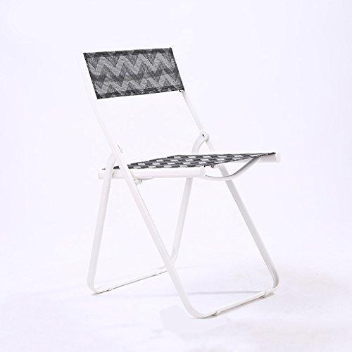 Chairs Klappstuhl Loungesessel im Freien Balkonstuhl Sessel Esszimmerstuhl (Farbe : 6)