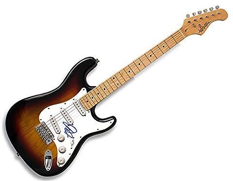 John Cougar Mellencamp Autographed Signed USA Guitar AFTAL UACC RD