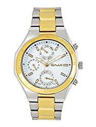 Omax Smart Casual Analog Dial Mens Watch - SS628