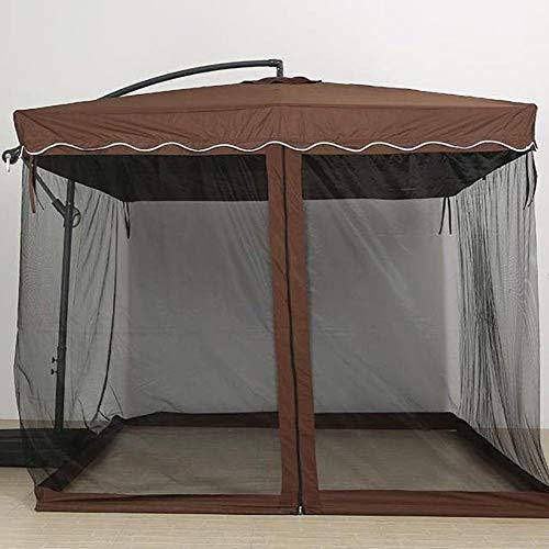 Hspoup Outdoor Camping 9/10FT Regenschirm Tisch Bildschirm Mosquito Bug Insektennetz