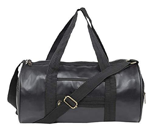 Akbagh AK 23 L Sports Fitness Duffle Gym Bag (Black)