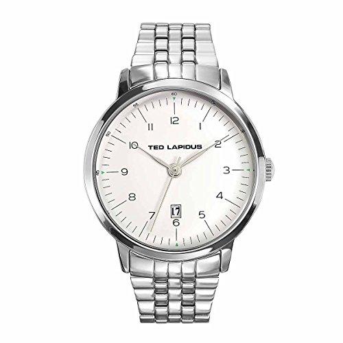 Ted Lapidus–Reloj Ted Lapidus acero–Hombre–45mm