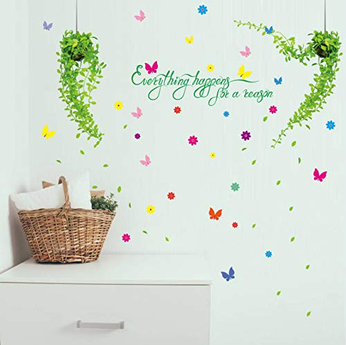 Zybnb Baum Rattan Hörner Zimmer Dekoration Wand Aufkleber Wand Aufkleber Schlafzimmer Warme Romantische Nachttisch Tapeten Aufkleber