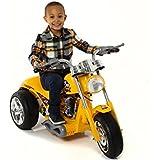 6v Ride on Chopper Trike Motorbike [Yellow] GB5008A by Scream