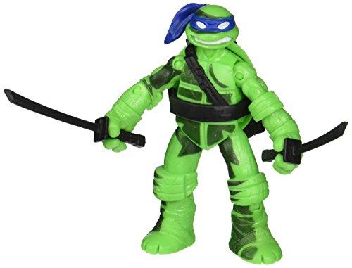 Turtles Schatten Ninja mit Farbwechseleffekt - Teenage Mutant Ninja Turtles Figur - bewegliche Figur ca 12 cm