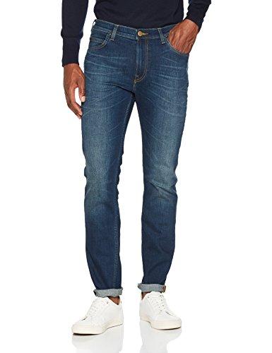 Lee Herren Slim Jeans Rider, Blau (Tinted Blue Kihf), W31/L34
