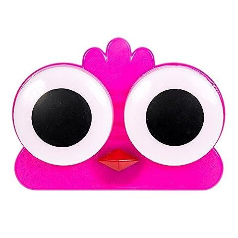 Coloured Contacts Küken Kontaktlinsenbehälter (Dunkles Pink) (Dunkle Banana)