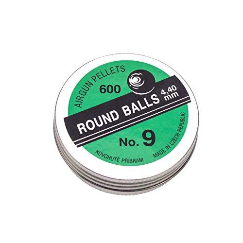 Round Balls InnoMar Punktkugeln No.09 Kal. 4,4mm 600 Stk.