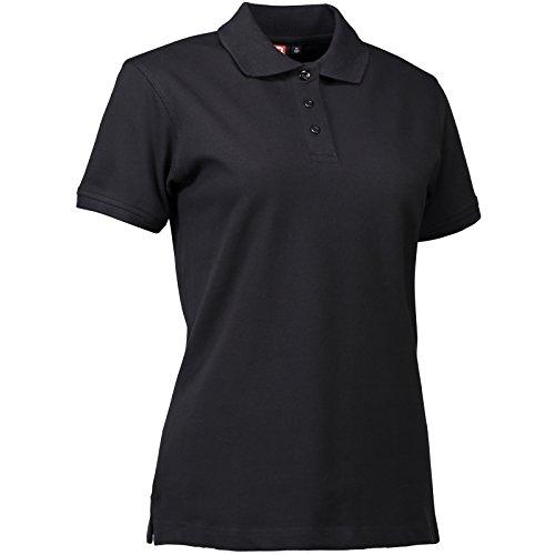 """Preisvergleich Produktbild Pionier 47122-M Stretch-Poloshirt 527"""" Größe M aus Piqué in schwarz"""