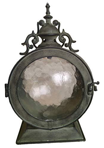Khevga oblò in metallo con lanterna
