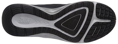 Nike Dual Fusion Run 3 Flash, Chaussures de course garçon Noir - Schwarz (Black/Reflect Silver-White)