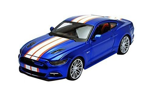 2015-ford-mustang-gt-50-blue-custom-1-24-by-maisto-31369-by-maisto