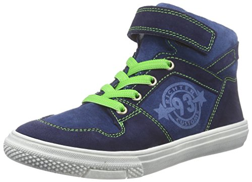 Richter Kinderschuhe Mose 6241-732 Jungen Hohe Sneakers Blau