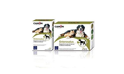 CamOn enterosalus Zusatzfutter für Probleme Darm Hund und Katze. 30Tabletten