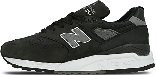 New Balance 998 M998DPHO Made in USA Sneaker LTD Schwarz/Grau, Schuhgröße:EUR 39.5 (Balance 998 New)