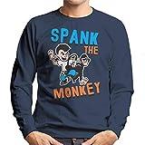 Coto7 Spank The Monkey Men's Sweatshirt