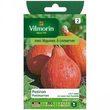 Vilmorin - Sachet graines Potiron Potimarron