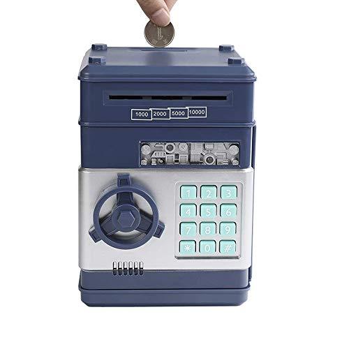 Money Banks, Security Piggy Bank Digital Electronic Money Bank for Kids, Mini ATM Coin Saving Banks, Toys Gifts Geburtstagsgeschenke für Kids -