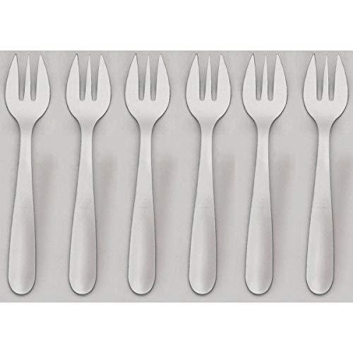 Jean dubost - 11219 - Lot de 6 fourchettes à huîtres