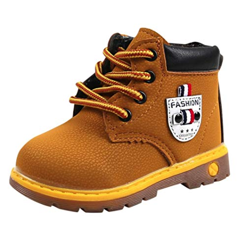 Baby Boy Girls Boots Sneakers Autumn Shoes, HOMEBABY Warm Casual Soft Crib Shoes Winter