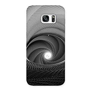 Neo World Swirl Design Back Case Cover for Galaxy S7 Edge