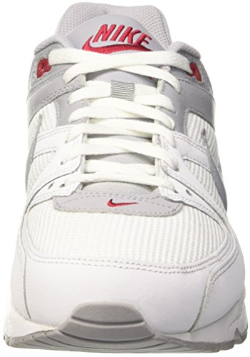 Nike Air Max Command, Chaussures de Fitness Homme Blanc Cassé (White/Wolf Grey/Gym Red)