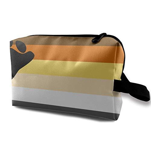 Bärn-Flaggen-kleine kosmetische Beutel-Reise-Make-upbeutel-moderner Organisator -