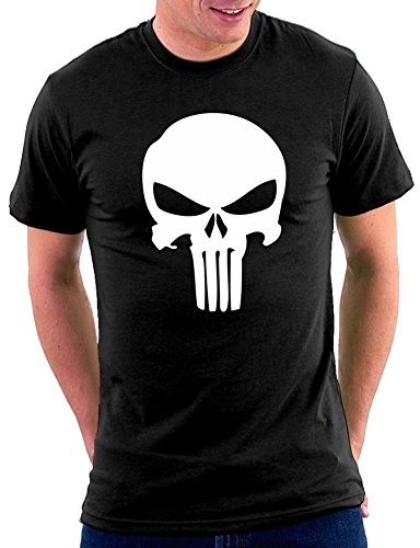 Punisher T-shirt Schwarz