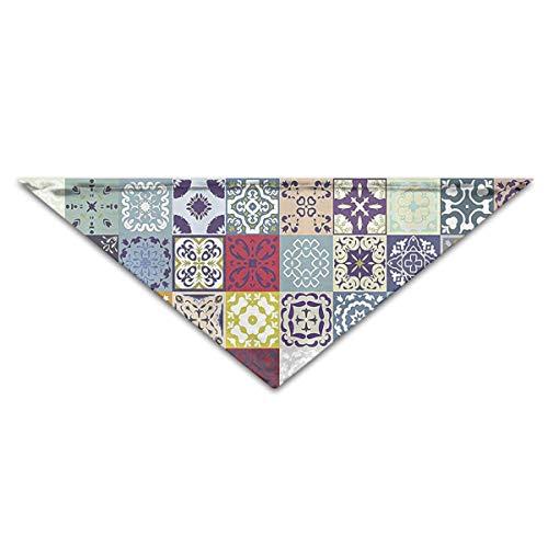 Gorgeous Socks Reizende marokkanische Mosaik-Polyester-Faser-Haustier-Schal-Zusätze 100% justierbar für alle sortierten Hundekatzen-Haustiere