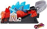 Hot Wheels Attacco alle Montagne Russe Pista Dinosauro Attacco alle Montagne Russe Pista Dinosauro Playset per Macchinine con Veicolo Incluso, Gioco per Bambini di 4 + Anni, GBF93