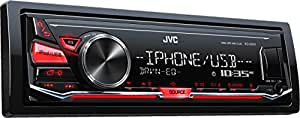 JVC KD-X241 Digital Media-Receiver mit Front-USB/AUX-Eingang schwarz