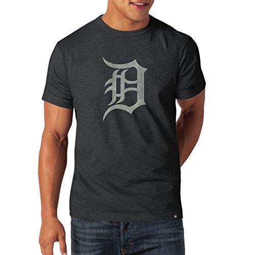 MLB Detroit Tigers Scrum Basic T-Shirt ('47 Brand)-S