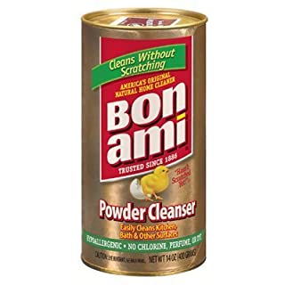 Bon Ami Polish and Cleanser Powder 14 Ounce (Set of 6) by Bon Ami