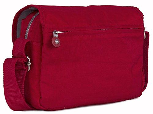 Big Handbag Shop , Sac pour femme à porter à l'épaule taille unique noir