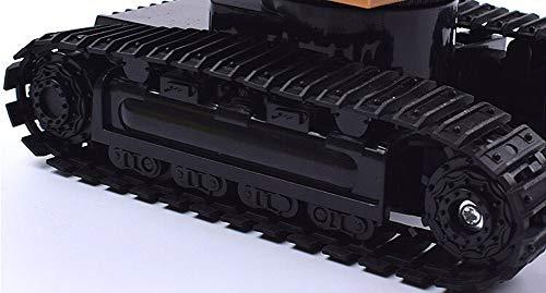 RC Auto kaufen Kettenfahrzeug Bild 6: Elektrischer Bautraktor mit RC Fernbedienung Bagger Modell Spielzeug für Kinder, MMLC 1:24 Bagger Sandkasten Modell Engineering Fahrzeug hohe Simulation Modell Spielzeug Kinder Geschenk (Mehrfarbig)*