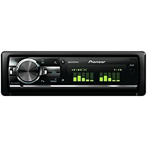 Pioneer DEH-X9600BT - CD-Tuner mit RDS, Bluetooth, Mixtrax EZ, iPod/iPhone- und Android-Steuerung, Dual USB, Aux-In und 3 Vorverstärkerausgängen (Großes Punktmatrix-Display)