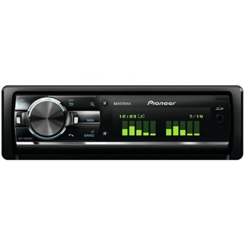Pioneer DEH-X9600BT Autoradio con Bluetooth, AUX, 2 USB, SD, Controllo iPhone/iPod/Android, RGB, MIXTRAX