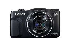 Canon Powershot SX700 HS Fotocamera Compatta Digitale, 16 MP, Nero