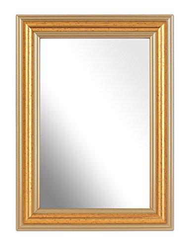 Inov8 specchio, design classico, circa 15x 10cm, prodotto in gran bretagna gold