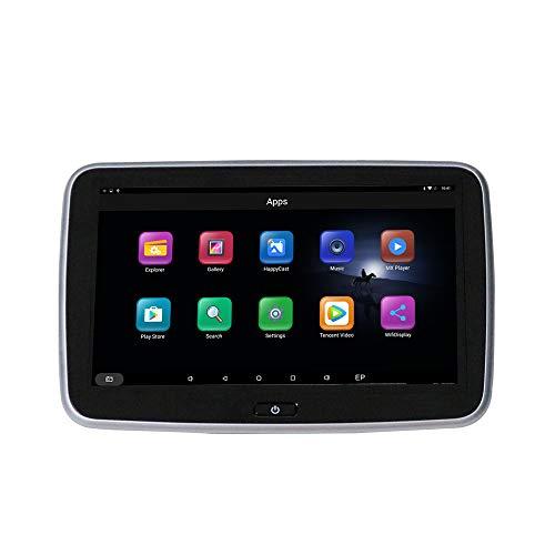 Kunfine 10,1 Zoll Android Auto Kopfstütze Game Player IPS HD Monitor mit WiFi 3G Bluetooth und FM Transmitter Bildschirm USB SD MP5 Player Sitz Installation Usb Wifi Transmitter