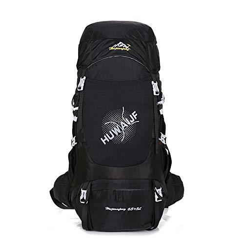 NOBIE 65L + 5L Grande Capacité Sacs à Dos de Randonnée Sac d'alpinisme Sifflet de Sauvetage Être Applicable À Pied Voyage Aventure Camping et Autres Sports de Plein Air