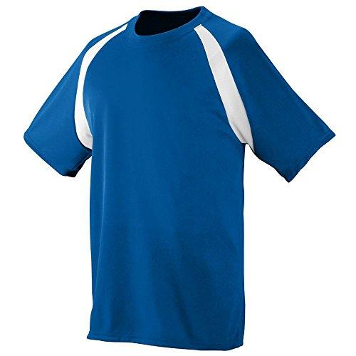 Augusta Herren T-Shirt Mehrfarbig - Royal/Weiß