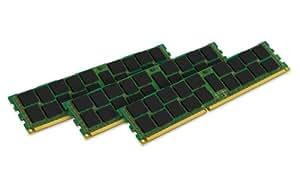 Kingston-KTA-MP1333DRK3/24G - Mémoire - 24 Go : 3 x 8 Go - DIMM 240 broches - DDR3 - 1333 MHz / PC3-10600 - mémoire enregistré - ECC - pour Apple Mac Pro